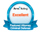 Avvo Excellent Rating - Featured Attorney Criminal Defense