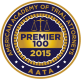 American Academy of Trial Attorneys 2015 - Premier 100