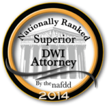 Nationally Ranked 2014 - Superior DWI Attorney